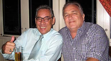 With Louis Noll on my 69th birthday, April 2008